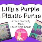 This little craftivity is perfect for your Kevin Henkes author study. Patterns for the purple purse shown in the picture are included. :)  -Ms. Lesl...