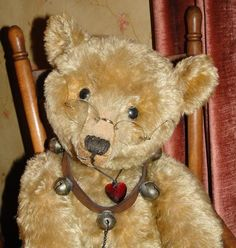 Vintage Glasses / Spectacles for Teddy...love love love this bear !!