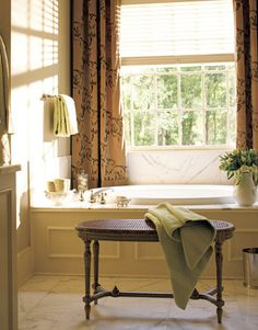 beautiful bathrooms | Bathroom Colors - Paint Color Schemes for Bathrooms - House Beautiful