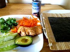 Low Carb Paleo Sushi by Grass Fed Girl. #paleo