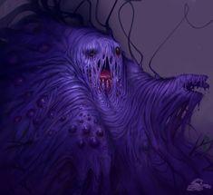So Lovecraftian!: Muk by ~SoupAndButter #dark #creepy