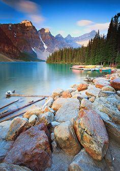 Lake Morraine @Alberta, Canada