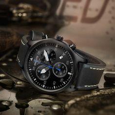 Aeromeister Taildragger Chronograph Quartz // AM8009
