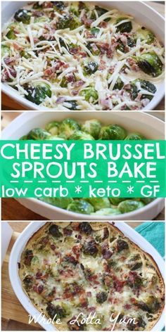 Easy Keto Recipes Discover Creamy Roasted Bacon Brussel Sprouts (keto & low carb too!) Keto brussel sprouts with bacon make the perfect keto Christmas and Thanksgiving side dish. The low carb brussel sprouts are roasted and so easy to make! Steak Side Dishes, Low Carb Side Dishes, Side Dish Recipes, Dinner Recipes, Breakfast Recipes, Rib Side Dishes, Diabetic Side Dishes, Dessert Recipes, Avocado Breakfast