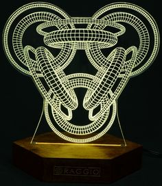 RAGGIO - a collection of decorative lamps and luminous images.