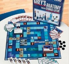 Trivia Games Greys Anatomy Trivia Board Game Surgical Hospital Drama Romance