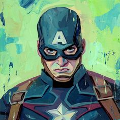 Captain America from 'Avengers Age of Ultron' - Rich Pellegrino