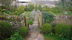 Barnsley House Potager Garden via Facebook | linenandlavender.net