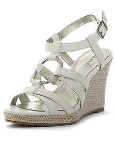 Alfani Women's Shoes, Selma Wedge Sandals - Sandals - Shoes - Macy's