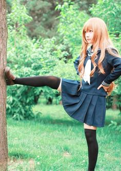 Cosplay Anime Costume taiga aisaka by himeogi - Cosplay Anime, Taiga Cosplay, Kawaii Cosplay, Cute Cosplay, Amazing Cosplay, Cosplay Outfits, Best Cosplay, Cosplay Girls, Cosplay Costumes