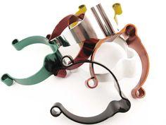 Kabelschellen für Oberrohr 3 Stück - farbig