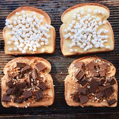 When there's no grill, these melty, gooey, crunchy Pretzel Peanut Butter S'mores sandwiches are just what you need. Pretzel Bread Sandwich, Chocolate Slice, Peanut Butter Pretzel, Piece Of Bread, Food Pictures, Food Pics, Wrap Sandwiches, Sweet Treats, Favorite Recipes