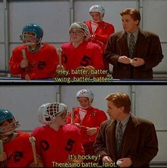 Mighty Ducks @Carey Ellingson  we watched this series a million times over! they look so little now! :P