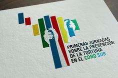 """Diseño de Isologotipo para las """"Primeras jornadas sobre la prevención de la tortura en el Cono Sur"""""""