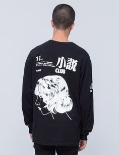 "Nothing ""Novel Club"" L/S T-Shirt 