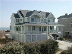 Oceanfront Outer Banks Rentals | Pine Island Rentals | Carolina Dream