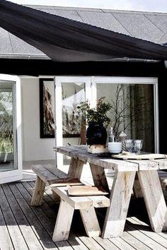 Terrasse inspiration - 20 skønne eksempler her