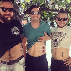 These Three Friends Got Matching Tattoos For the Coolest and Most Heartwarming Reason