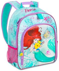 ac5b1945b8 Personalized Light-Up Ariel Backpack. Disney MerchandiseDisney  PrincessPrincess ...
