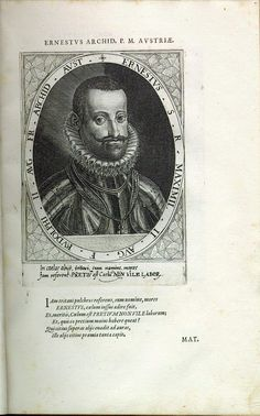 Ernst, Erzherzog (1553-1595), Statthalter in den Niederlanden (ab 1592)