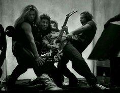 One of the best rock photos, ever. Van Halen
