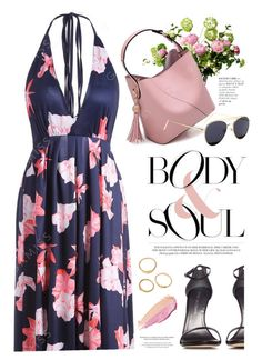 """Floral"" by yexyka ❤ liked on Polyvore featuring LSA International, Stuart Weitzman, By Terry and StyleNanda"