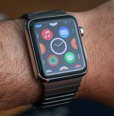 Apple Watch - Stainless Steel Link