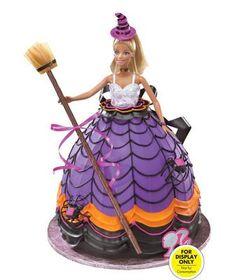 Barbie Doll Cake - Holloween