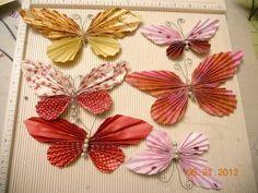 ▶ ScrapGenious How to make a Butterfly Fan- The Butterfan - YouTube