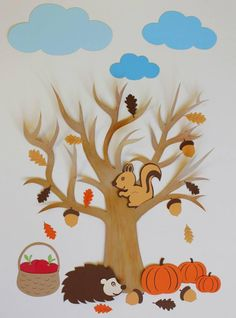 Related Posts:Tree art and craft activitiesChristmas decoration ideasProtect the ForestsFall craft and decorating ideas Fall Arts And Crafts, Autumn Crafts, Autumn Art, Autumn Theme, Diy And Crafts, Crafts For Kids, Paper Crafts, Diy Paper, Autumn Activities