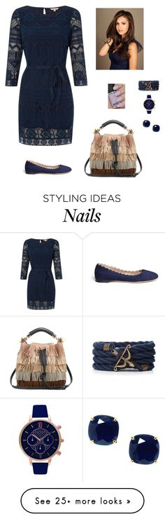 """""""Untitled #794"""" by azra-99 on Polyvore featuring White Stuff, Chloé, Olivia Burton and Kate Spade"""
