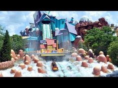 Dudley Do-Right's Ripsaw Falls is a log flume ride at Islands of Adventure in Orlando, Florida inspired by the Dudley Do-Right character created by cartoonis. Universal Orlando, Universal Studios, Universal Resort, Disney Parque, Day Off, Hogwarts, Explore, Adventure, Park