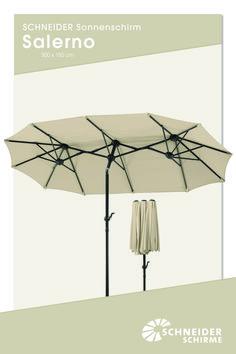 Schon Sonnenschirm: Salerno: 300 X 150 Cm // Bespannung: 100 % Polyester,