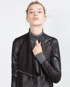 FAUX SUEDE OVERSHIRT-MUST HAVES-WOMAN   ZARA United States