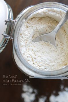 The *Best* Instant Pancake Mix Recipe