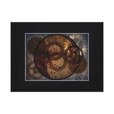 Gears Of Time Canvas Art Print
