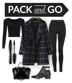 """""""edgy minimal"""" by ivegotyougrande ❤ liked on Polyvore featuring Topshop, Givenchy, Lancôme, women's clothing, women, female, woman, misses and juniors"""