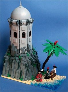 Lego Pirates MOC Forgotten Bay