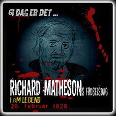 Richard Matheson ville være blevet 90 år i dag.  http://www.mxrket.dk/feb20-matheson.html