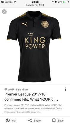 Jerseys I want · Leicester City Away 2017-18 Leicester 78ce92b07