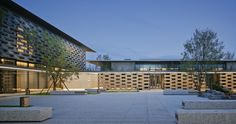 Gallery of Tianjin Luneng Taishan College / Lacime Architectural Design - 11