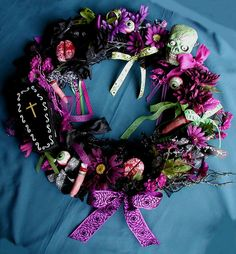 Items similar to Zombie Body Parts Creepy Cute Halloween Wreath Made To Order on Etsy Cute Halloween, Halloween Costumes, Halloween Ideas, Christmas Music Playlist, Zombie Apocalypse Party, Zombie Prom, Creepy Cute, Wreath Crafts, How To Make Wreaths