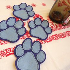 Podtácky pacička Coasters, Drink Coasters