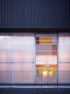 Nathalie Mauclair Gymnasium,© David Foessel
