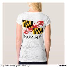 Flag of Maryland Tshirt