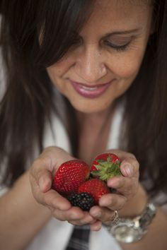 """Strawberries are the angels of the earth, innocent and sweet with green leafy wings reaching heavenward."""" – Terri Guillemets. Margy's Kitchen has turned a strawberry into the best jam!"""