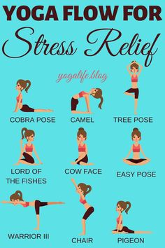 If you love yoga then you will find that you can relieve stress through some easy yoga flow. Yoga has so many benefits for the mind, body, and soul. Best yoga poses and benefits for stress relief even for beginners. Easy Yoga For Beginners, Yoga Sequence For Beginners, Yoga Routine For Beginners, Beginner Yoga, Yoga Inspiration, Fitness Inspiration, Enjoy Fitness, Best Workout Plan, Yoga World