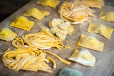 With just one simple pasta dough recipe, the pasta possibilities are endless. A Food, Food And Drink, Pasta Machine, Fresh Pasta, Good Housekeeping, Dough Recipe, Tortellini, Naan, Gnocchi