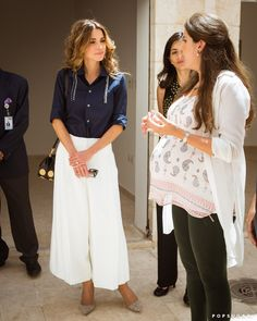 You Know You Want to Wear Queen Rania's Blouse to the Office Tomorrow