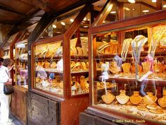 Ponte Vecchio in Florence, Italy. One of the best places to buy Italian Jewelry ;-).